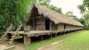 """بيوت من الخيزران..تحف فنية """"استثنائية"""" في فيتنام"""