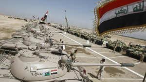 العراق: تعزيزات عسكرية ضخمة للأنبار وتغيير بالأسلوب القتالي للجيش العراقي
