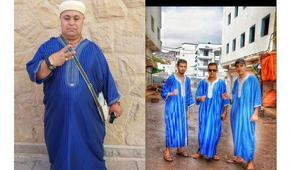 """نشطاء يحتفلون في العيد بالمغرب بزيّ الزفزافي تضامنا مع """"حراك الريف"""""""