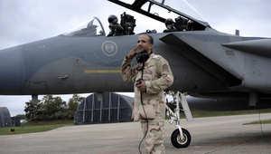 مسؤولون يمنيون لـCNN: المقاتلات السعودية تنفذ أقوى ضربة منذ بدء عاصفة الحزم ضد موكب للحوثيين بشبوة