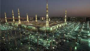 المسجد النبوي في المدينة المنورة بالسعودية ثاني أقدس المساجد عند المسلمين