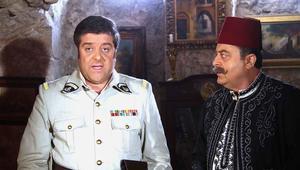 الممثل زهير رمضان بدور أبو فهد، والممثل فادي صبيح بدور الضابط الفرنسي فرانك.