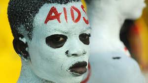 صورة أرشيفية لإحدى النشاطات التي أقيمت في اليوم العالمي للإيدز