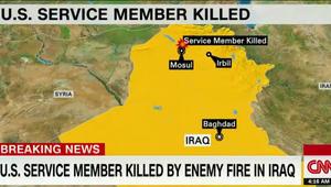 """مسؤول أمريكي لـCNN: مقتل مستشار أمريكي للبشميرغة بعد اختراق """"العدو"""" الخطوط الأمامية بالعراق.. وواشنطن ترد بالقنابل"""