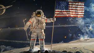 معرض لرحلة أبوللو 11 إلى القمر