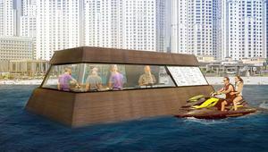 مطبخ عائم يلمّ نفايات البحر لأول مرّة في العالم.. فقط في دبي!