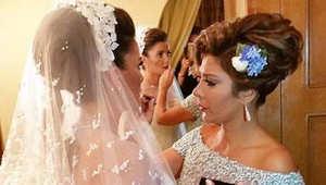 الفنانة السورية أصالة نصري تنشر صور زفاف ابنتها