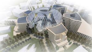 """دبي تكشف النقاب عن تصميم """"قلب معرض إكسبو 2020"""""""