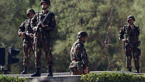 أحد عناصر قوات الأمن الجزائرية