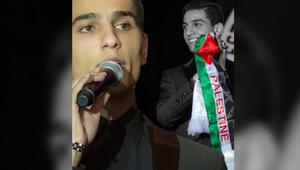 """على أنغام """"أناديكم"""".. محمد عساف مع الأطفال في شوارع فلسطينية"""