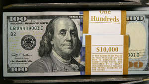 أوراق مالية جديدة من فئة مائة دولار