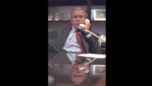 صور لم تُر من قبل: ماذا كان يفعل جورج بوش يوم هجمات 11 سبتمبر؟