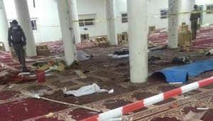 بالصور.. هجوم مسجد المشهد بنجران بالسعودية.. والداخلية: العثور على سيارة منفذ الهجوم وبداخلها رسالة لوالديه