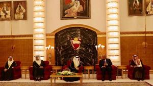 ملك البحرين يستقبل وزراء خارجية الدول المقاطعة لقطر.. ويؤكد: قدمنا تضحيات كثيرة في الحرب ضد الإرهاب