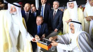 أردوغان يضع حجر أساس مطار الكويت الجديد.. ويدعو لرفع التبادل التجاري بين تركيا ودول مجلس التعاون الخليجي