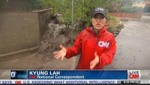 بعد الحرائق والجفاف.. فيضانات وانزلاقات طينية بجنوب كاليفورنيا