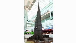 دبي تعلن عن أطول مجسم للشوكولاتة في العالم