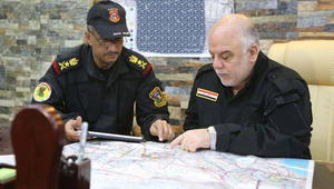 """وزير الدفاع العراقي يؤكد تحرير ناحية الصقلاوية.. والعبادي يتفقد """"خطوط المواجهة الأمامية"""" لعمليات الفلوجة"""