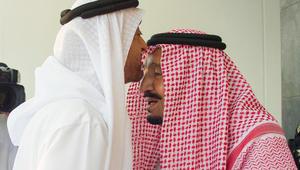 الملك سلمان يستقبل محمد بن زايد للمرة الأولى منذ ظهور أزمة قطر