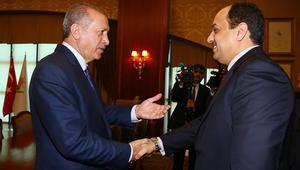 أردوغان يلتقي وزير الدفاع القطري.. وقالن: هناك مؤشرات على إمكانية التوصل لنتيجة بشأن الأزمة