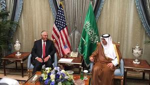 وزير خارجية أمريكا يصل إلى جدة ويلتقي وزير الخارجية السعودي