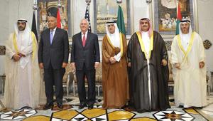 """وزير الخارجية الأمريكي يغادر السعودية بعد بحث أزمة قطر بـ""""كل جوانبها"""""""