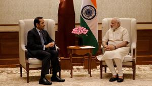 وزير خارجية قطر من الهند: نقدر موقفها الحيادي تجاه الأزمة الخليجية.. وملتزمون بمحاربة الإرهاب