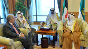 أمين عام الأمم المتحدة يؤكد دعم جهود الوساطة الكويتية لحل الأزمة القطرية