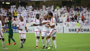 الإمارات تفوز على السعودية وتجدد آمال الوصول لمونديال 2018