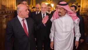 """العبادي يبدأ زيارته للسعودية.. ويطرح رؤية العراق لمستقبل """"بلا خلافات وحروب"""""""