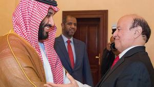 بعد شائعات الإقامة الجبرية.. الرئيس اليمني يستقبل محمد بن سلمان