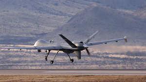 صورة أرشيفية لطائرة بدون طيار أمريكية