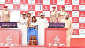 محمد بن راشد بعد فوز جواده بكأس دبي العالمي: ليلة عالمية عاشتها الإمارات