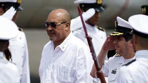 رئيس دولة سورينام الأمريكية الجنوبية، ديزيه باوتيرسي