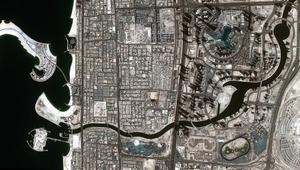 شاهدوا قناة دبي المائية الجديدة من الفضاء!