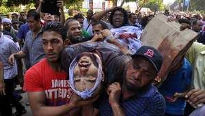 خلال تشييع أحد قتلى جماعة الإخوان بأغسطس/آب الماضي