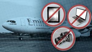 كيف تخفف شركات الطيران صداع حظر الإلكترونيات على الركاب؟