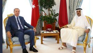 أردوغان يجتمع مع أمير قطر.. ما أبرز ما