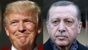 ترامب يتصل بأردوغان مهنئاً.. ويتفق معه على محاسبة الأسد