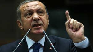 """أردوغان لـ""""المتباكين"""" على كوباني: أين كنتم يوم قُصفت حلب وحمص وحماة والموصل وكركوك؟"""