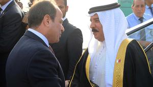 السيسي وملك البحرين: قطر تمسكت باتخاذ مسلك مناوئ للدول العربية