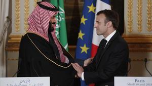 ولي العهد السعودي من باريس: سنتدخل بسوريا إن دعت الحاجة