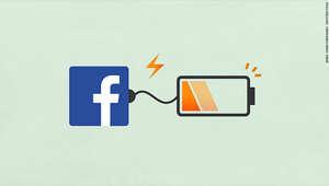 """""""فيسبوك"""" تحل مشكلة استنزاف بطاريات هواتف """"آيفون"""""""