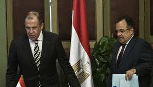من زيارة لافروف إلى القاهرة الخريف الماضي