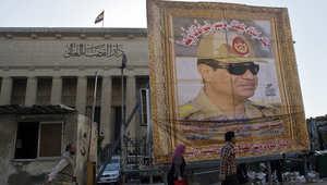 السيسي يتقدم بأوراق ترشيحه ويعرض سياسته: لا عودة للنظام القديم ونحتاج 400 إلى 500 مليار دولار