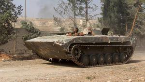 المعارضة السورية على مشارف حماة والسيطرة على المدينة أبرز الأهداف