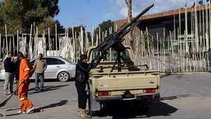 ليبيا: 34 قتيلا وجريحا بصراع الكتائب المسلحة على مطار طرابلس
