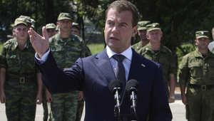 """مدفيديف: روسيا امتنعت عن إشعال حرب مع تركيا بعد عدوانها ضد بلادنا بإسقاط طائرة """"سوخوي 24"""""""
