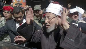 القرضاوي يصدر 5 مقترحات لحل أزمة جماعة الإخوان المسلمين في مصر