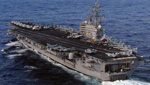 """مقاتلات أمريكية تعترض طائرتين روسيتين بعد تحليقها قرب حاملة الطائرات """"رونالد ريجان"""" في المحيط الهادي"""